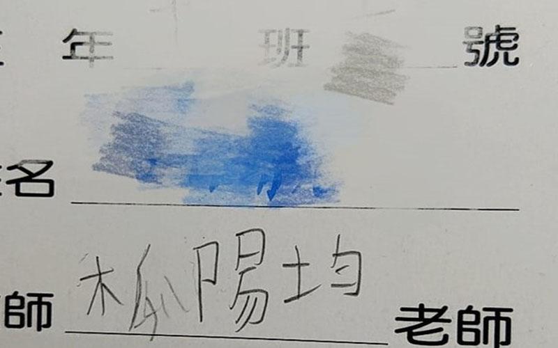 教師欄寫「木瓜陽均」被媽糾正!兒堅持「我沒寫錯」說出老師名字...:笑噴