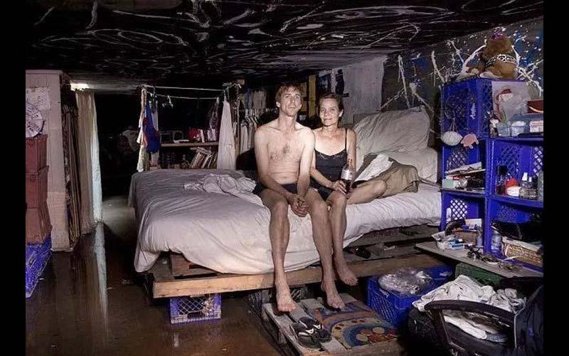 實拍住在美國下水道的男女,不為人知的地下迷宮竟居住著千人!